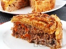 Рецепта Пирог с кайма